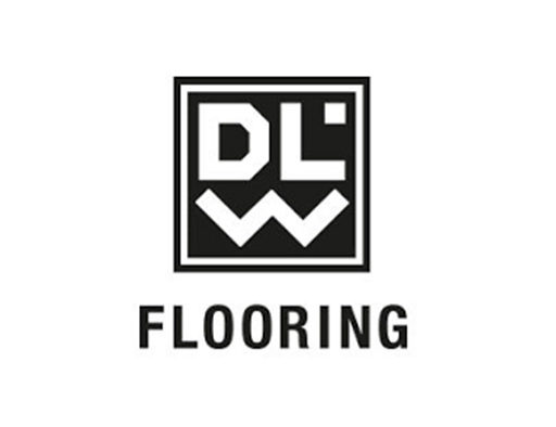 het logo van DLW flooring